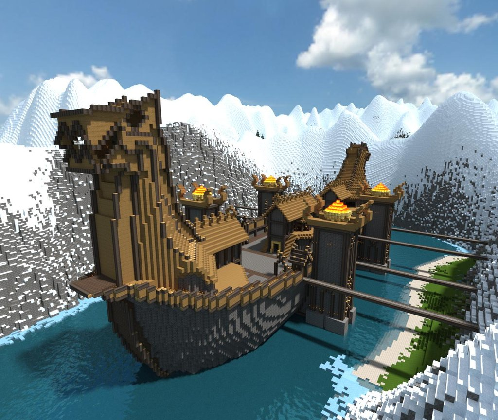 Featured Pictures: Cool Minecraft Creations (229/365