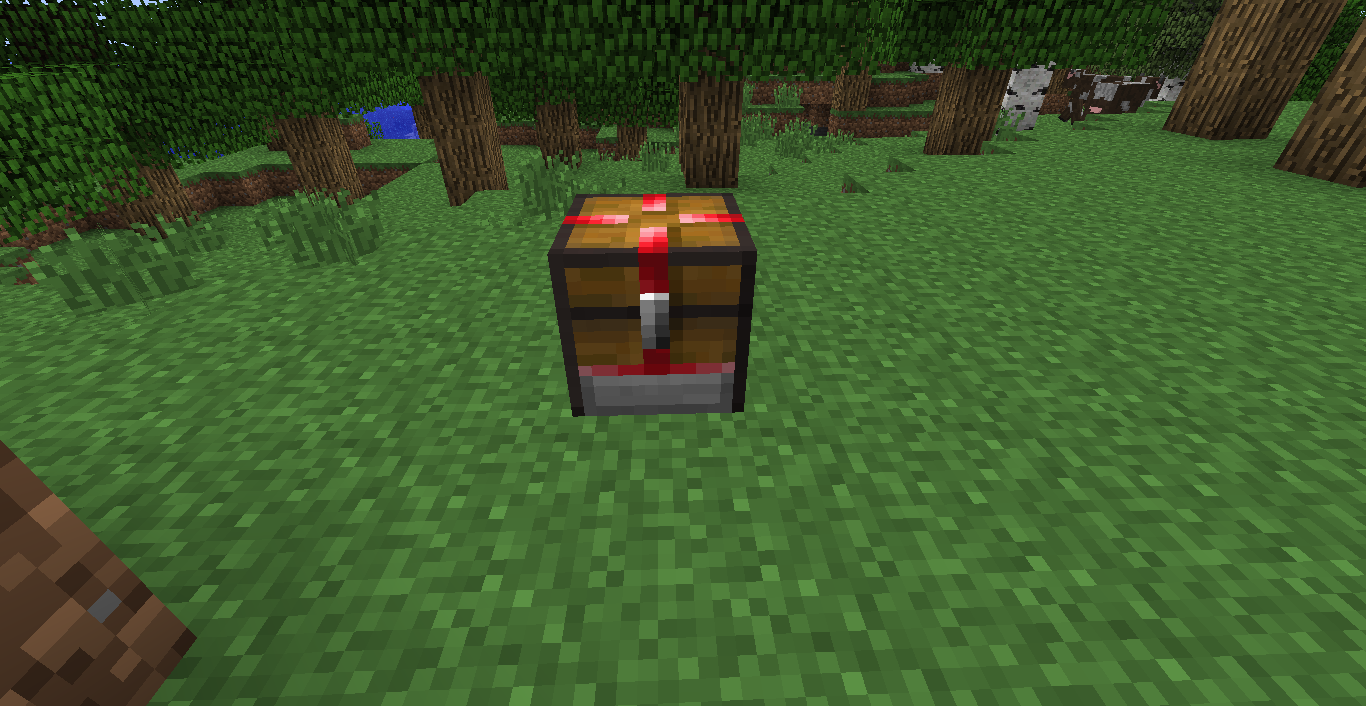 minecraft how to make chest