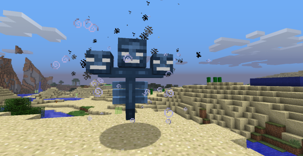 When you spawn a Wither, the Wither destroys the world.