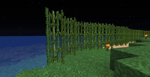 Sugar cane looks cooler too.